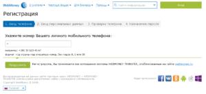 Регистрация wmid webmoney