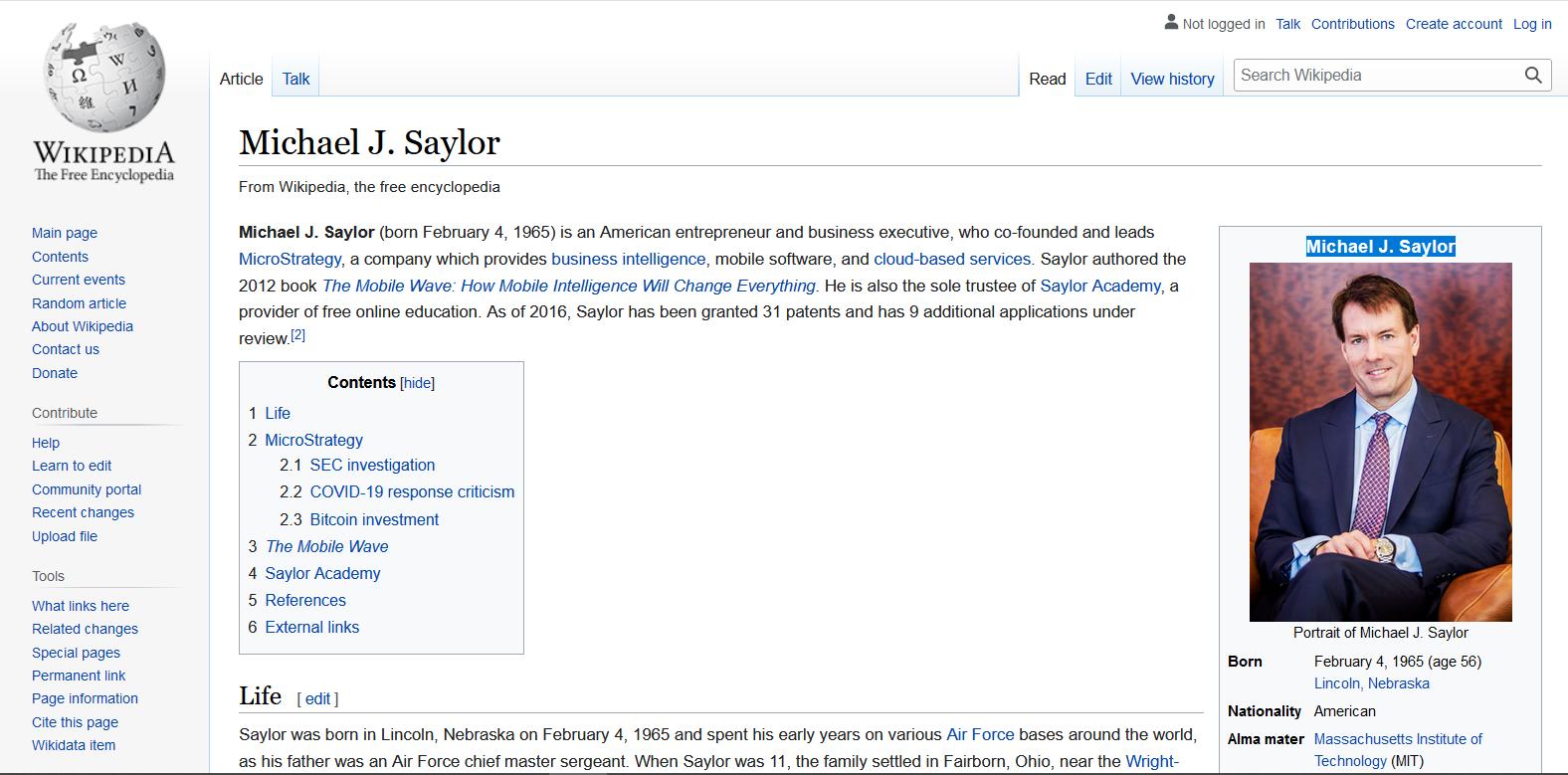 Michael J. Saylor